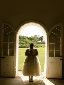 A wedding shoot at Fort Mifflin